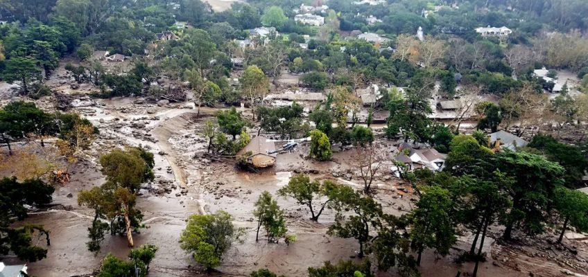 Montecito Debris Flow photograph