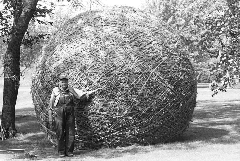 Huge ball of twine